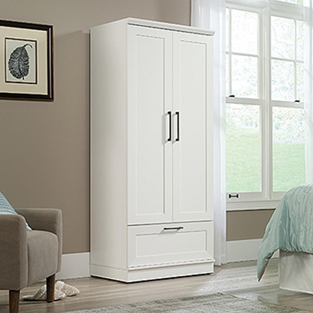 Soft White WardrobeStorage Cabinet423973  The Home Depot