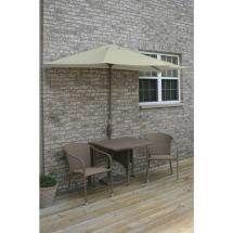 Hanover Traditions 3-piece Patio Bistro Set With 2-cast