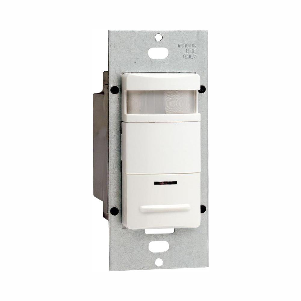 medium resolution of leviton decora 120 277 volt wall switch occupancy sensor white 2