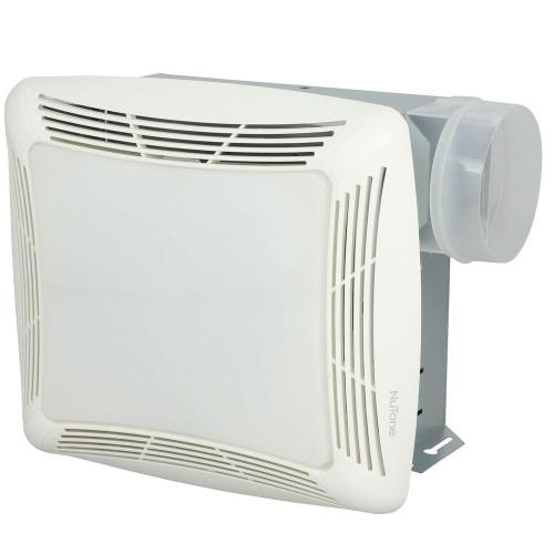 small resolution of nutone 70 cfm ceiling bathroom exhaust fan with light white grille and light