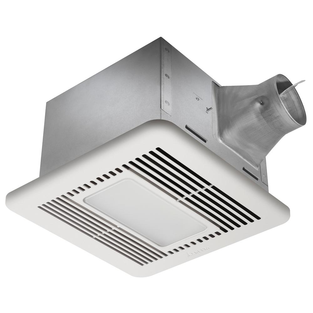 NuTone QTXN Series Very Quiet 110 CFM Ceiling Exhaust Fan with Heater Light Nightlight