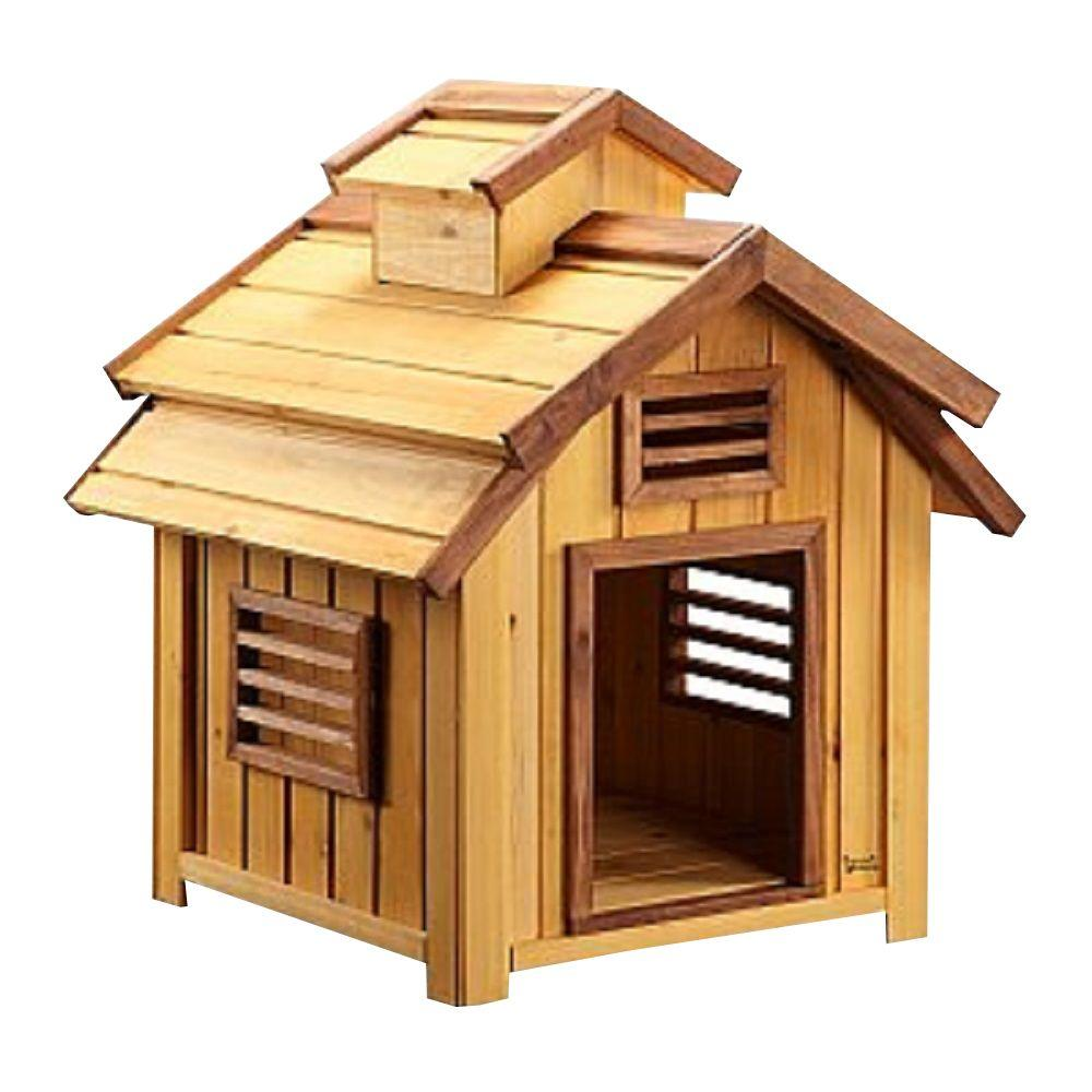 Pet Squeak 19 ft L x 17 ft W x 21 ft H Small Bird Dog House1203S  The Home Depot