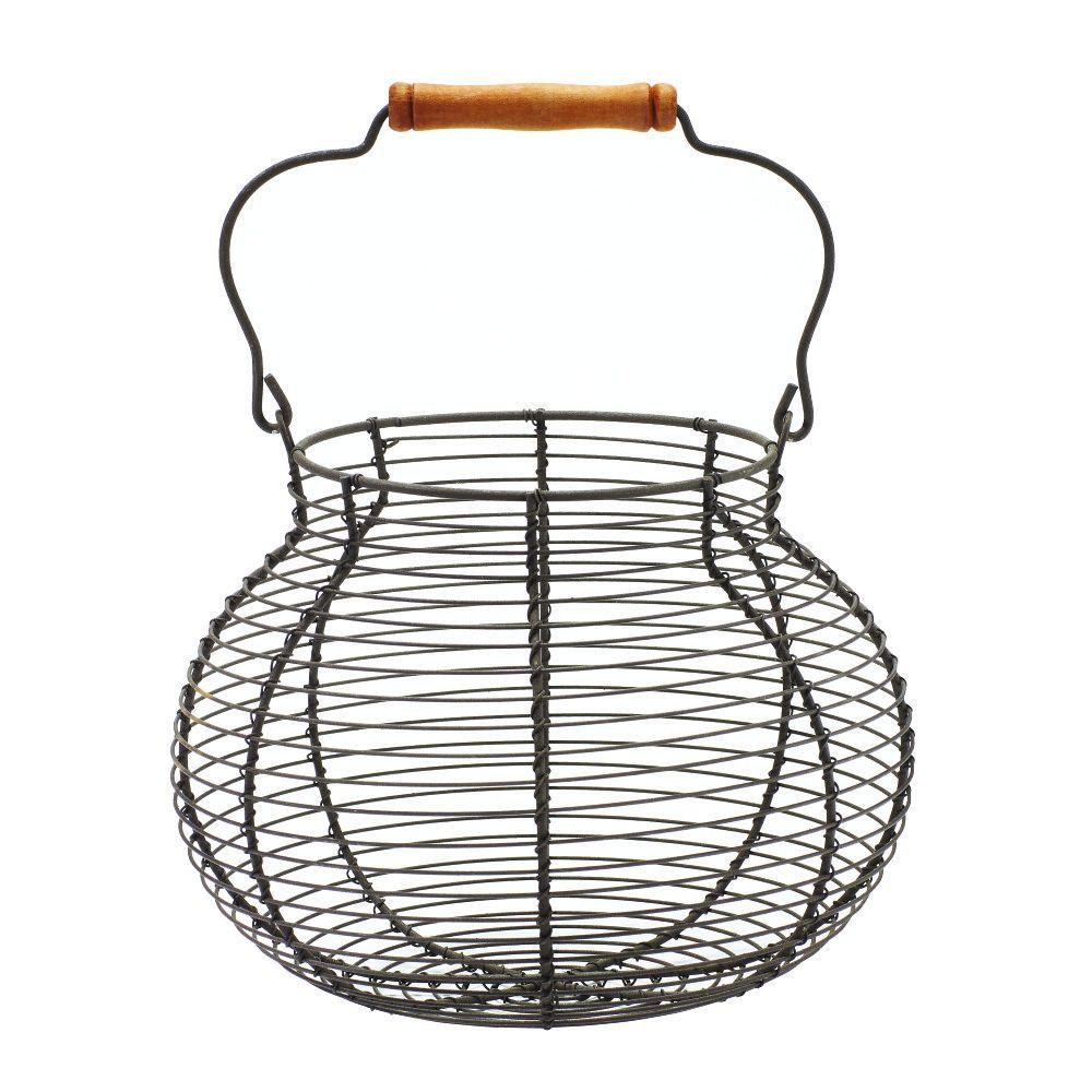Home Decorators Collection 7 in. Egg Basket-9306600270