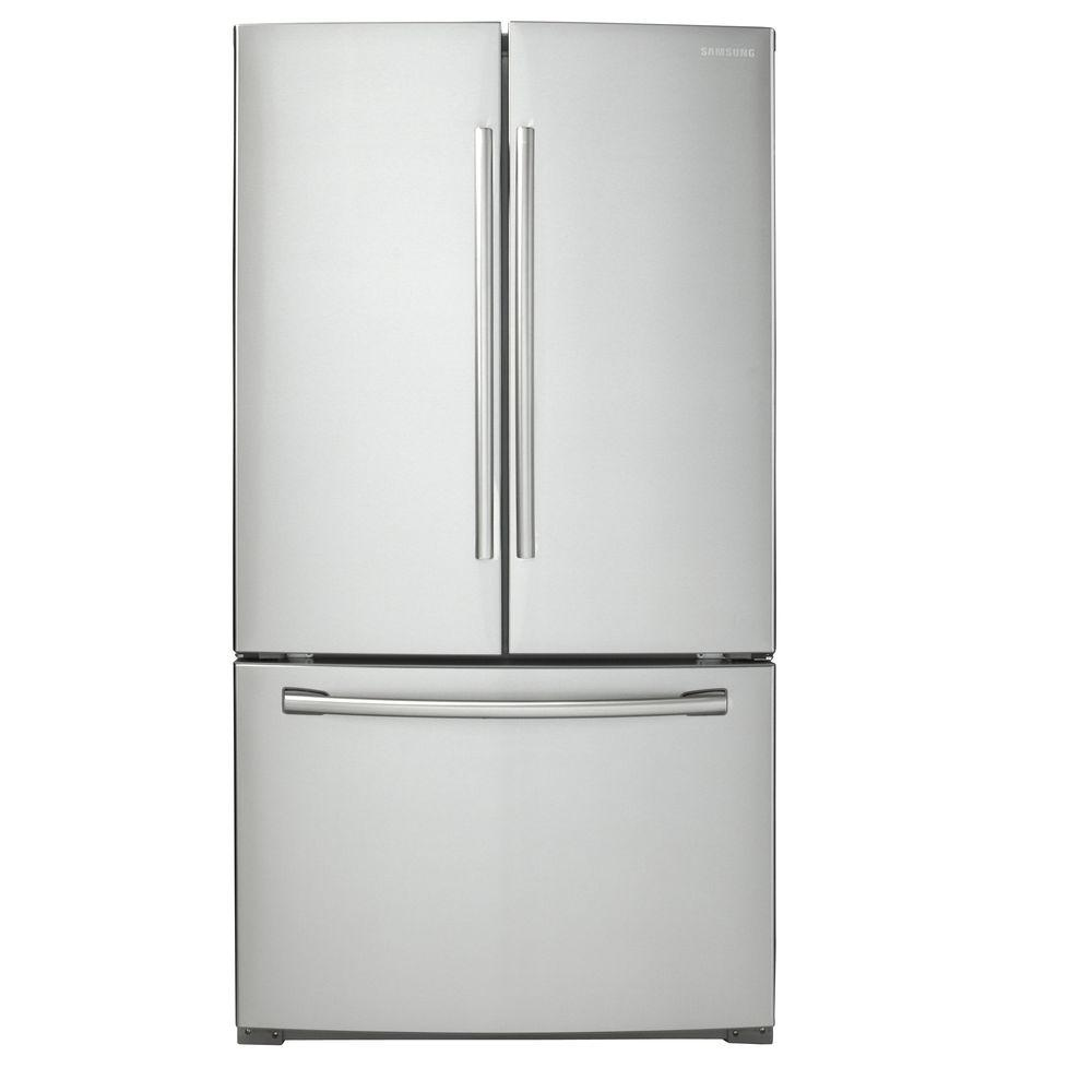 hight resolution of samsung 25 5 cu ft french door refrigerator in stainless steel
