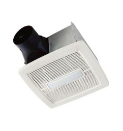 invent series 110 cfm ceiling installation bathroom exhaust fan with light  [ 1000 x 1000 Pixel ]