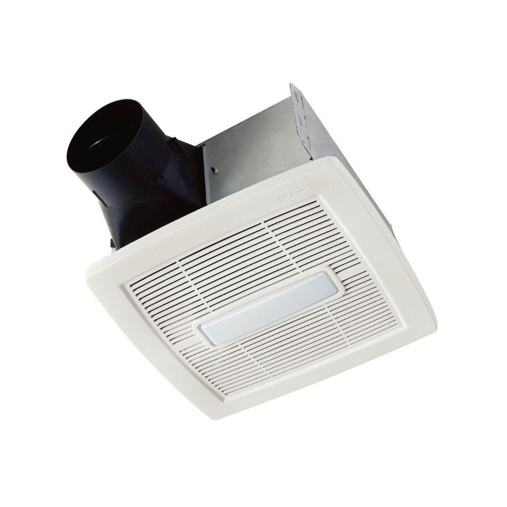 hight resolution of invent series 110 cfm ceiling installation bathroom exhaust fan with light