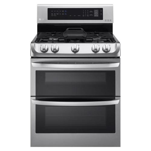 small resolution of double oven gas range with probake convection oven