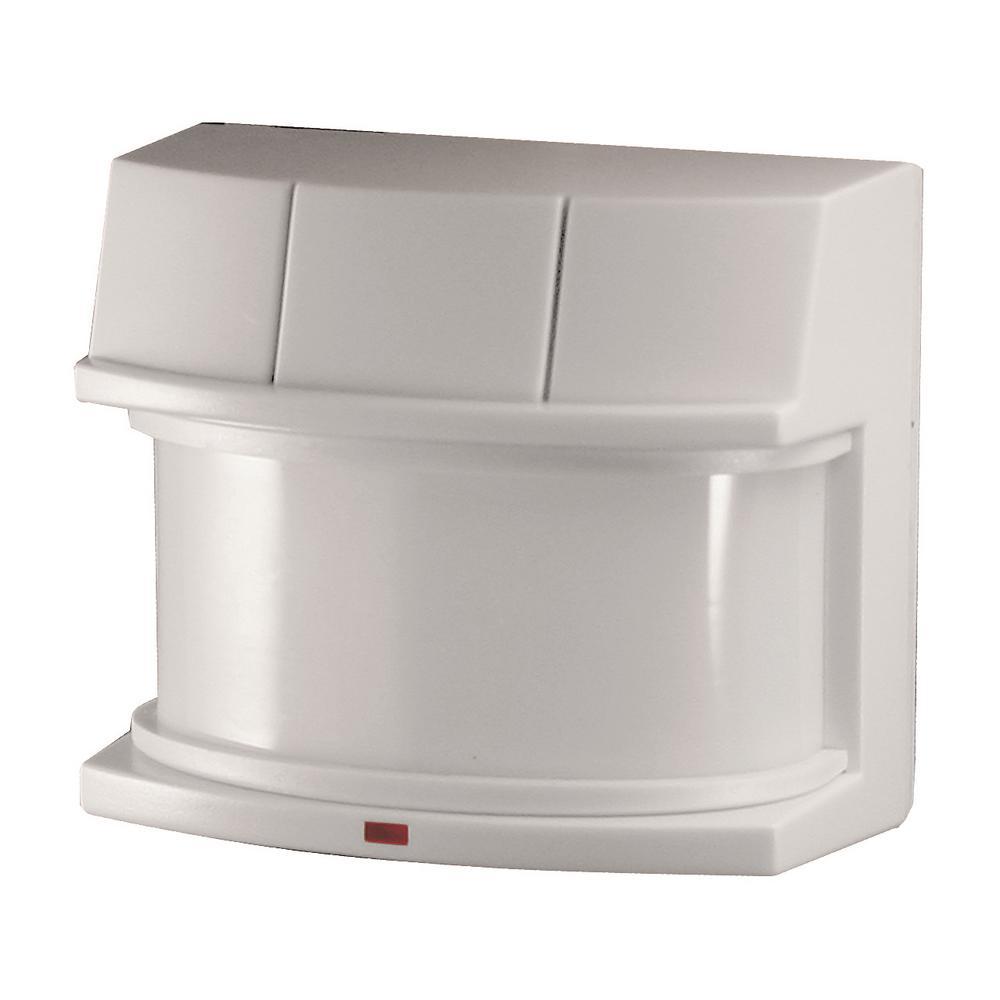 medium resolution of heath zenith 240 degree white replacement outdoor motion sensing flood light sensor