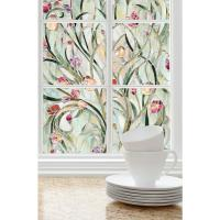 Spanish Garden Decorative Window Film 24x36 in Privacy