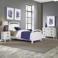 Home Styles Newport 3-Piece White Twin Bedroom Set-5515 ...