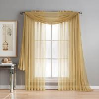 Window Elements Diamond Sheer Voile 56 in. W x 216 in. L ...