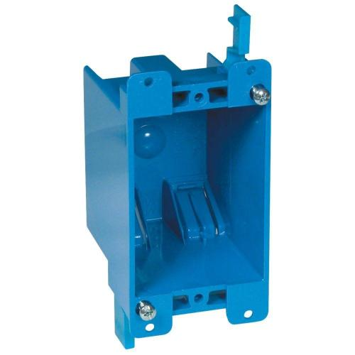 small resolution of carlon 1 gang 14 cu in old work pvc electrical box