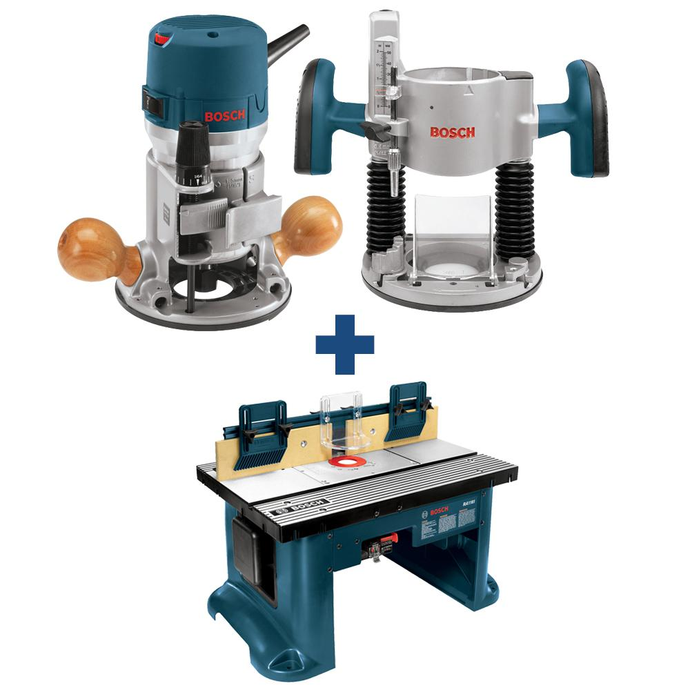 Fixed Base Router Table