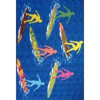 LA Rug Surf Time Surfs R Us Multi Colored 39 in. x 58 in ...