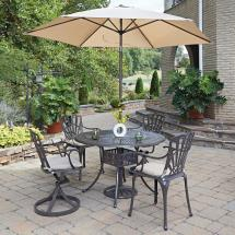 Home Styles Largo 5-piece Patio Dining Set With Umbrella