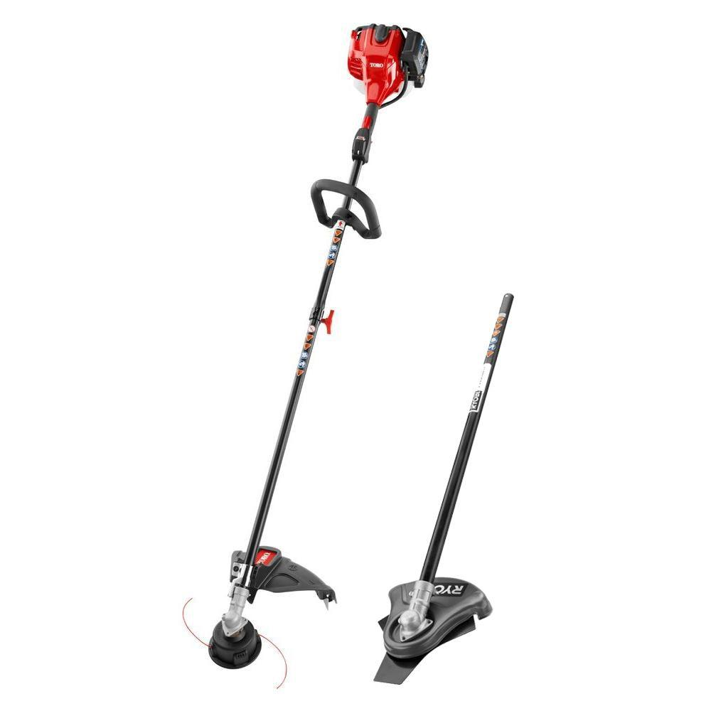 Toro Gas String Trimmer With Brush Cutter Attachment