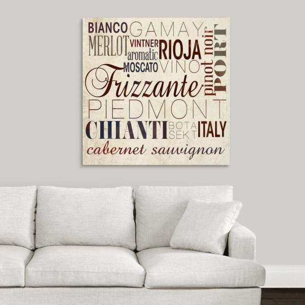 wine words i by