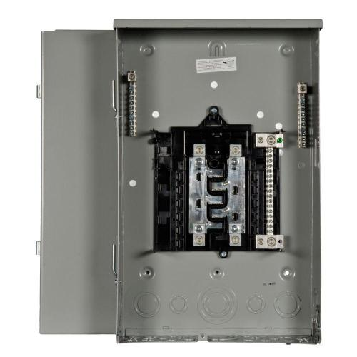small resolution of siemens pl series 200 amp 8 space 16 circuit main lug outdoor trailer panel
