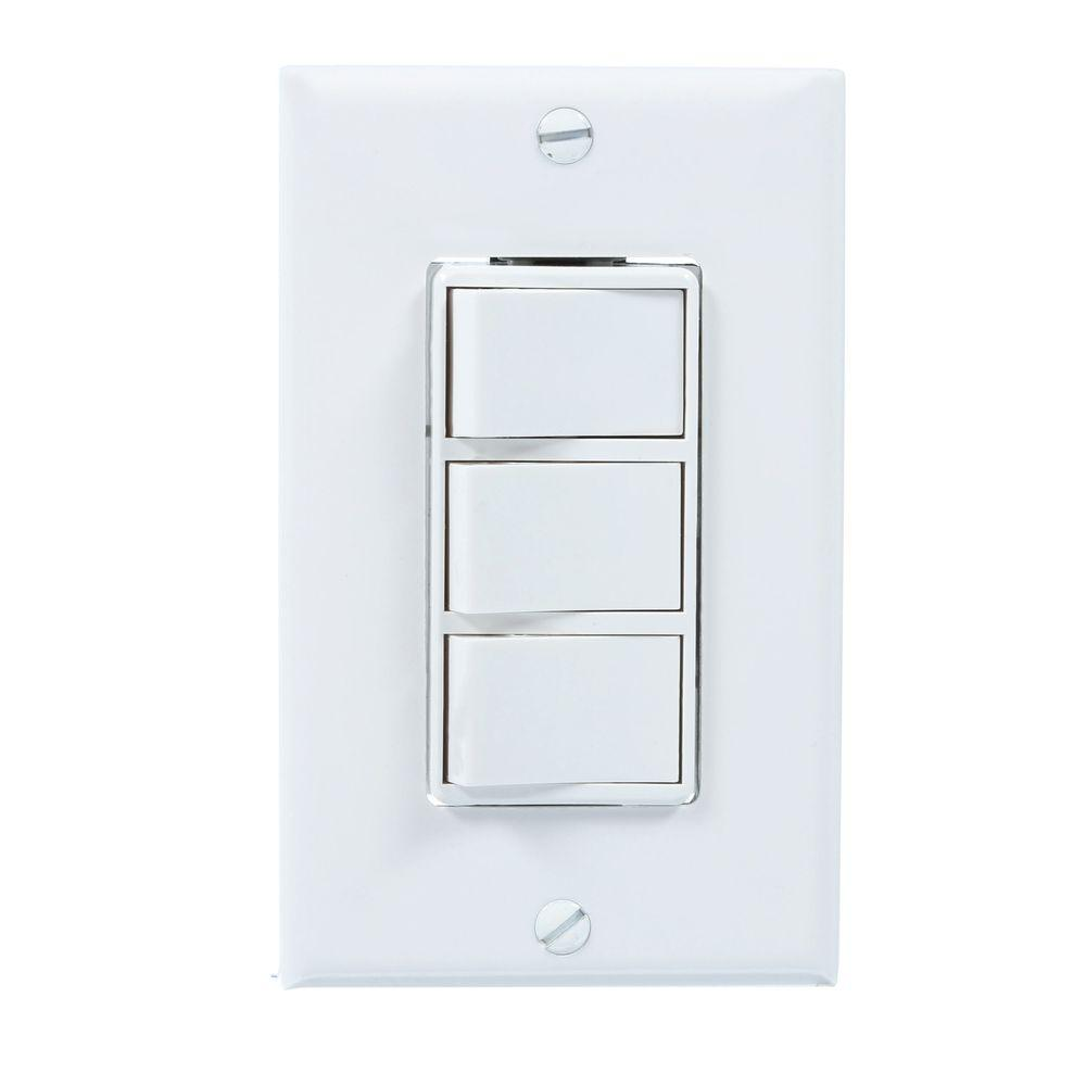 hight resolution of broan 4 function wall control in white 77dw the home depotbroan 4 function wall control in