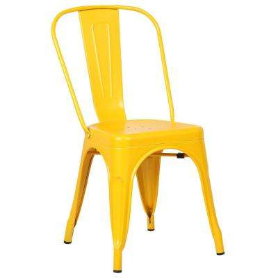 yellow chairs for living room small layout fireplace and tv furniture the home depot trattoria side chair