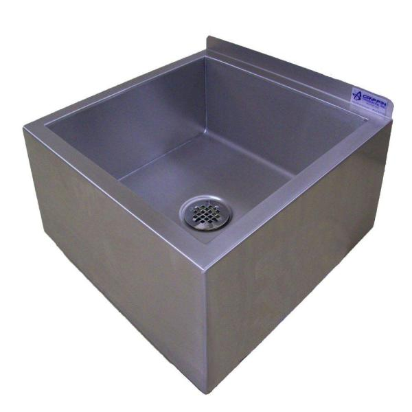 Griffin Products Um-series 23x23 Stainless Steel Floor