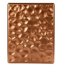 hampton bay wireless or wired doorbell hammered copper design [ 1000 x 1000 Pixel ]