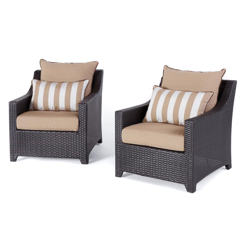 patio club chair chicco hook on rst brands deco 2 piece all weather wicker seating set with