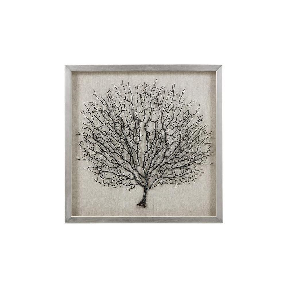 imax in x in sea fan coral framed wall art