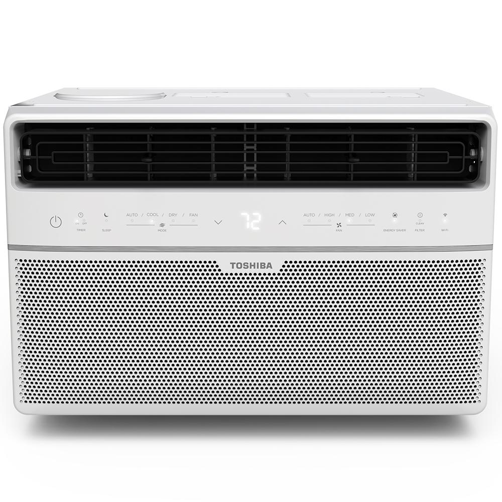 medium resolution of 8 000 btu 115 volt smart wi fi window air conditioner with remote and energy star