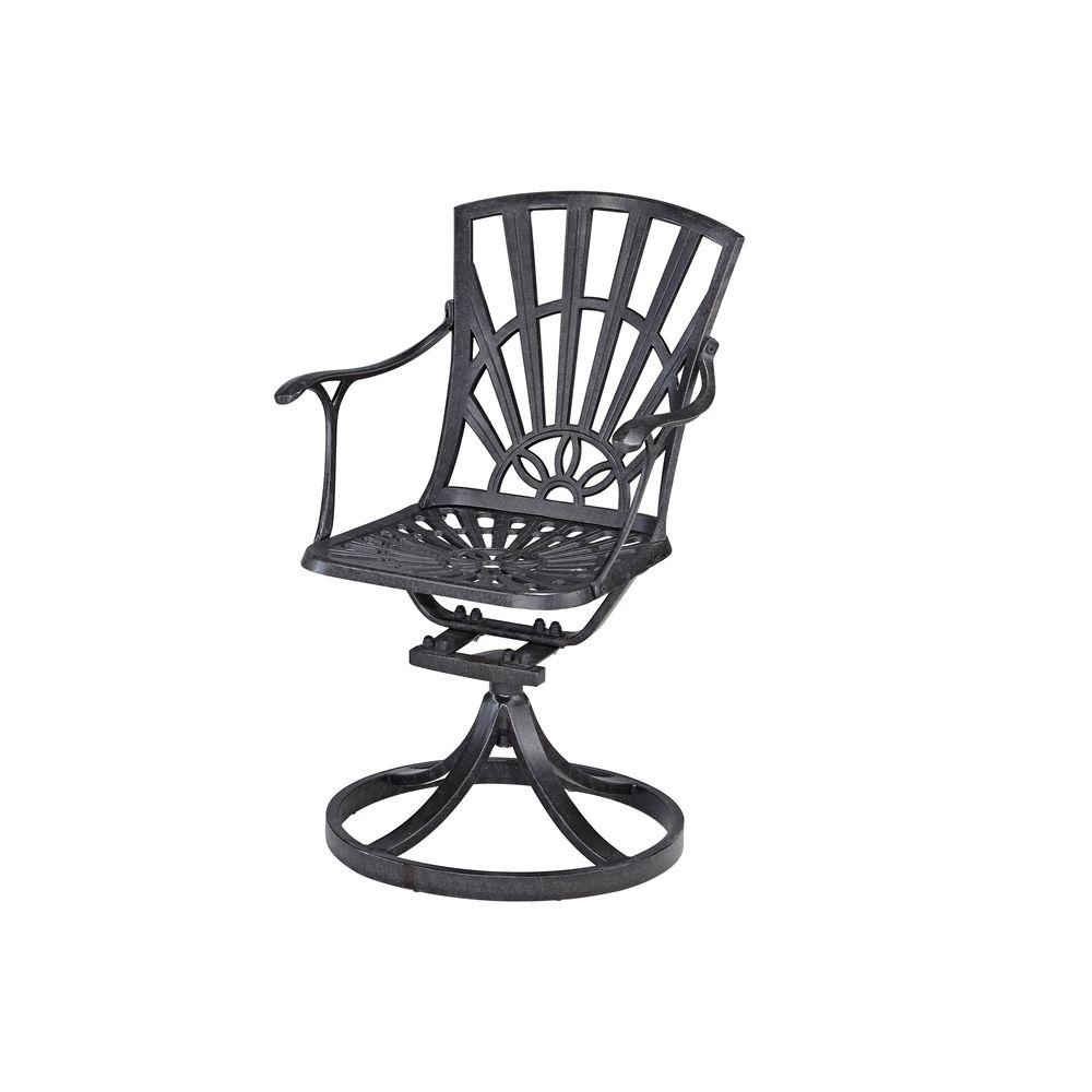 Styles Of Chairs Home Styles Largo Swivel Patio Dining Chair