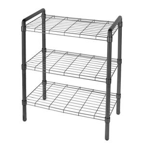 The Art of Storage 23 in. 3 Tier Adjustable Wire Shelving