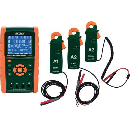 small resolution of extech instruments 200a 3 phase power analyzer and data logger kit with nist