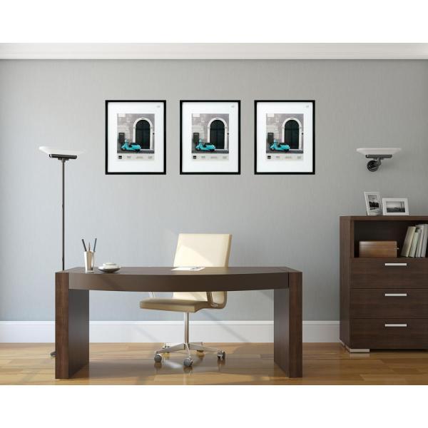 Kiera Grace Contempo 16 In. X 20 11 14 Black Wood Frame-ph00375-1ff - Home