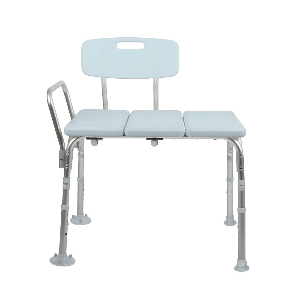 shower chair vs tub transfer bench adirondack chairs on sale medline bath safety with back mds86960kdh the home