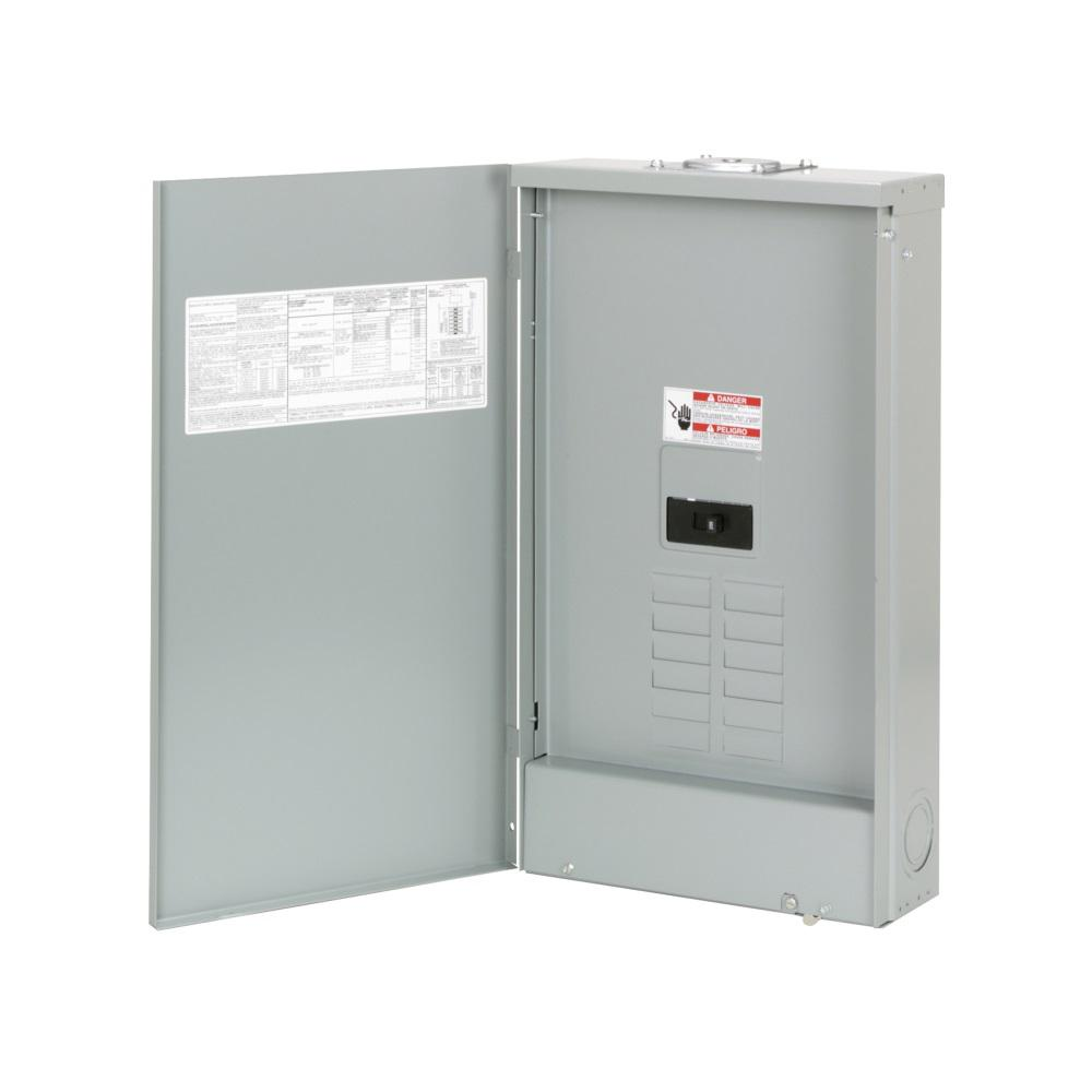 medium resolution of eaton br 200 amp 8 space 16 circuit outdoor main breaker loadcenter with cover