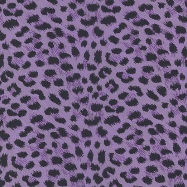 Purple Leopard Print