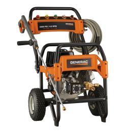 generac 4 200 psi 4 0 gpm ohv engine triplex pump gas powered pressure washer [ 1000 x 1000 Pixel ]
