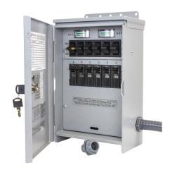 reliance controls 7 500 watt 30 amp 6 circuit outdoor transfer reliance 50 amp schematic wiring [ 1000 x 1000 Pixel ]