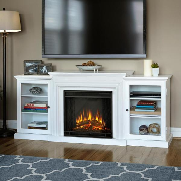 Real Flame Frederick 72 In. Freestanding Electric