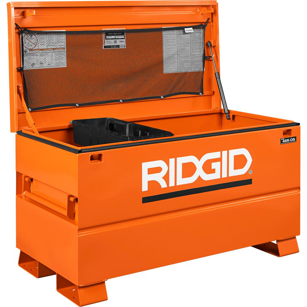 Best Kitchen Gallery: Ridgid 48 In X 24 In Universal Storage Chest 48r Os The Home Depot of Universal Storage Box on rachelxblog.com