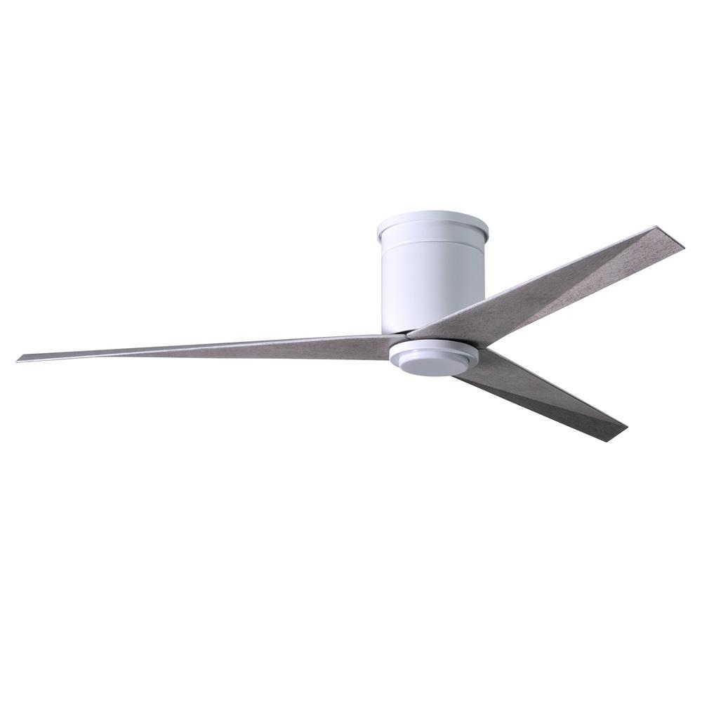 medium resolution of led indoor outdoor damp gloss white ceiling fan with