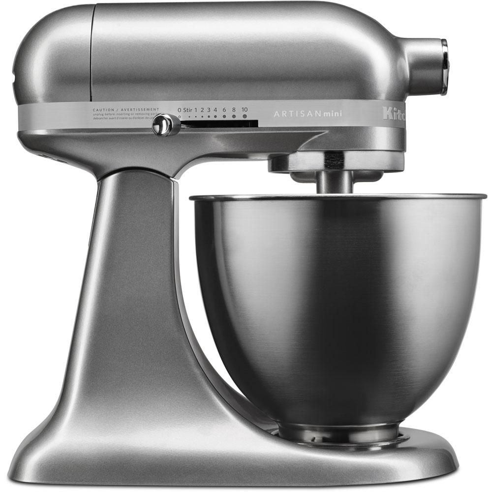 KitchenAid Artisan Mini 35 Qt Tilt Head Contour Silver