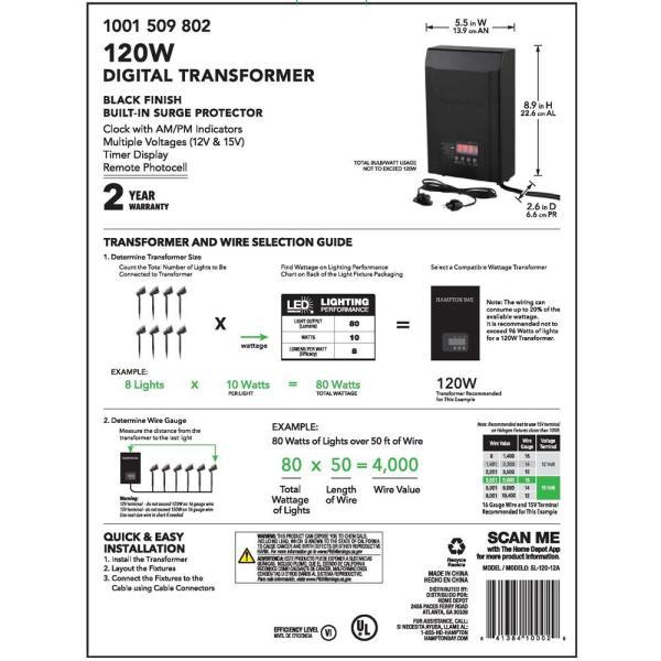 Malibu Low Voltage Transformer Parts