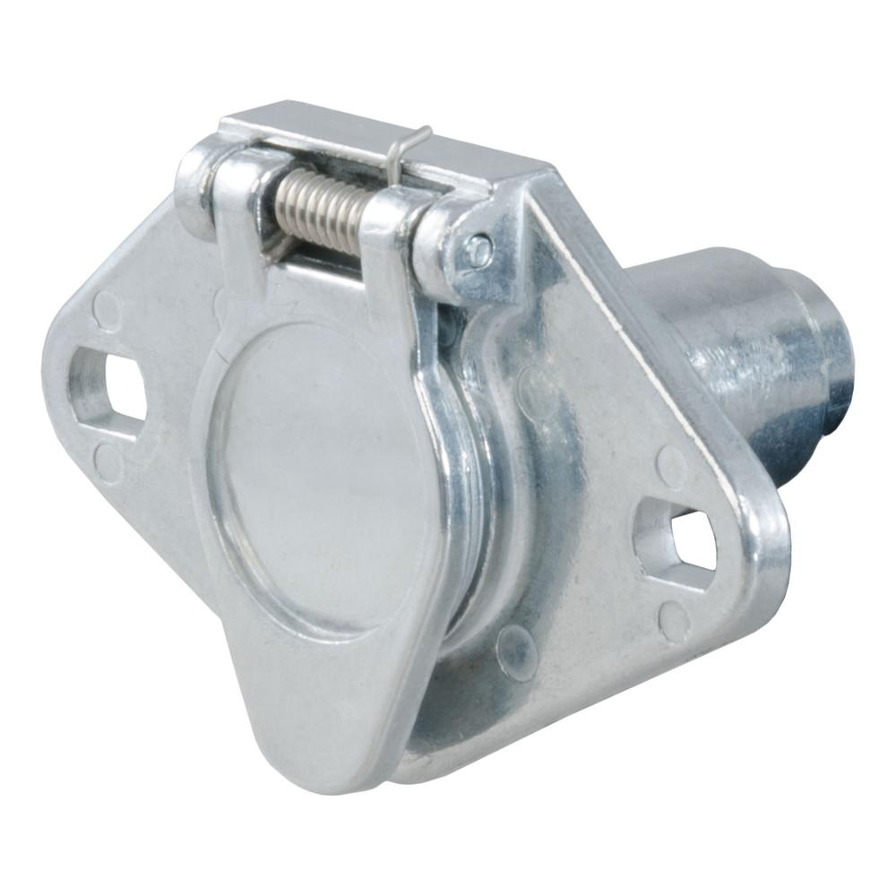 medium resolution of 6 way round connector socket vehicle side packaged
