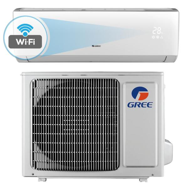 Gree Livo 12 000 Btu 1 Ton Wi-fi Programmable Ductless