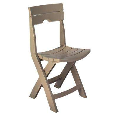armless folding chair green leather tufted dining patio chairs furniture quik fold portobello resin plastic outdoor lawn