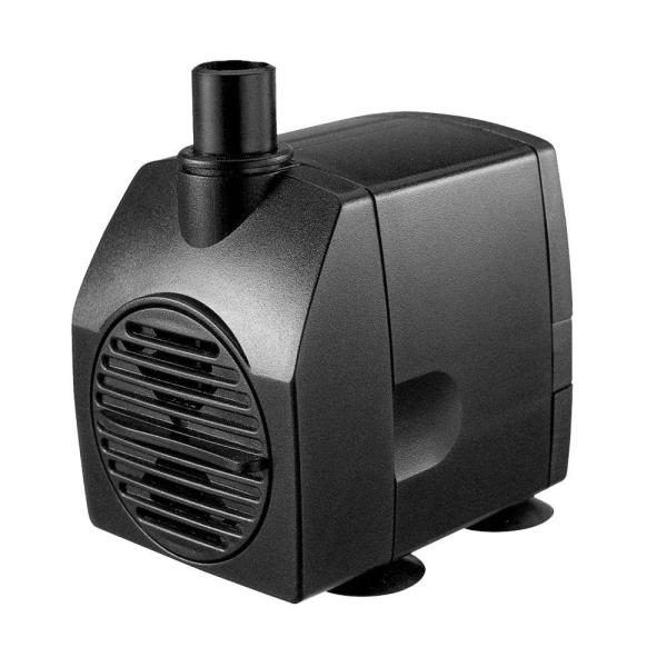 Algreen 75 Gph Statuary Fountain Pump Water Features-92502 - Home Depot