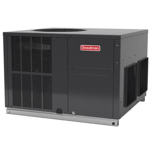 small resolution of goodman 2 5 ton 14 seer r 410a horizontal package air conditioner heat pump