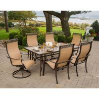 Hanover Monaco 7-Piece Outdoor Patio Dining Set ...