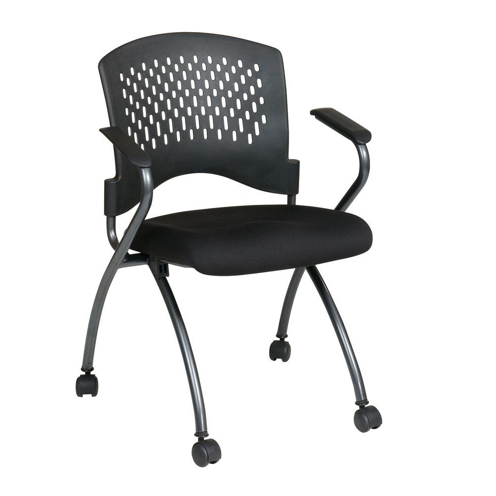 Foldable Office Chair Office Star Products Coal Freeflex Rolling Visitor Office Chair